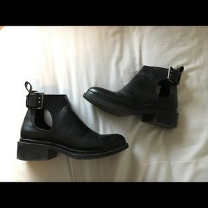 Zara cut out ankle boots